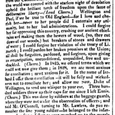 Daniel O'Connell. Clare Election 1828 - Report by Southern Reporter | British Library