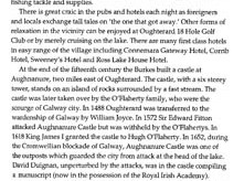 Modern description of Oughterard, with historical references