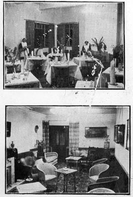 Angler's Hotel interior
