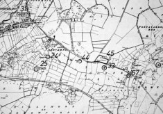 Monument map 1930. Detail, Ardvarna