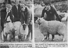 Press cutting 1982. Oughterard Show