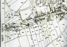 Map 1898. Detail, Fough West