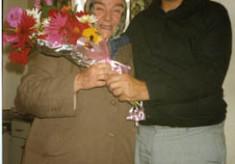 Mary Geghegan and Fr. Hallinan