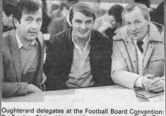 Press cutting 1985. Fotoball Convention Board