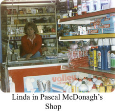 Linda in Pascal McDonagh's shop