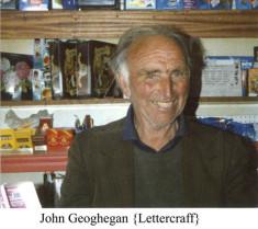 John Geoghegan, Leterrcraff