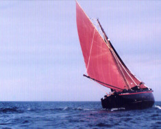 Boat built by Tommy Mallon, Camp Street