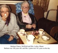 Barbara Clancy, Wellfield and Mrs. Lydon, Maam