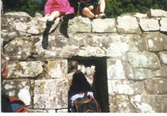 David and Lauren Walsh, Inchagoill island