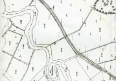 Map 1898. Detail, Fough East, Oughterard