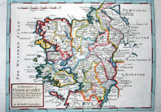 Moll's map of Connaught 1728