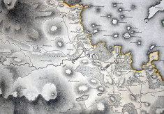 Map c.1800. Oughterard