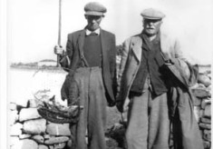 Fishermen with catch c.1930