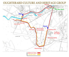 Heritage Walk map. Cregg and Canrawar