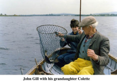 John Gill and his granddaughter Colette