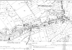 Map 1890. Detail, Oughterard