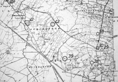 Monument map 1930. Detail, Drimnahoon