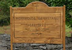Workhouse Graveyard Signage