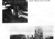 Oughterard Newsletter. jack O'Fflahertie and Aughnanure Castle