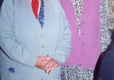 Mary Geoghegan and Nora O'Malley
