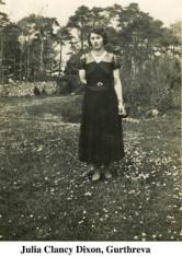 Julia Clancy Dixon, Gurthreva