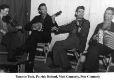 Tommy Tuck, Main Street Patrick Roland, Matt and Pete Conneely, Lemonfield