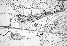 Monument map 1930. Detail, Clareville