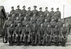 F.C.A. Platoon Competition 1957