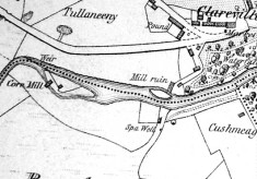 Map 1898, section, Clareville