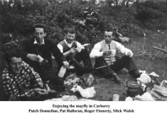 Patch Donnellan, Pat Halloran, Roger Finnerty and Mike Walsh