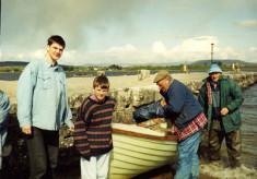 Going fishing on Lough Corrib