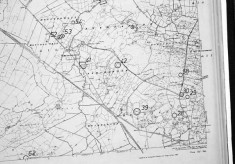 Monument map 1930. Detail, Laghtgannon