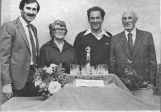 Press cutting.1982 Golf resentation