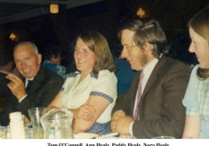 Tom O'Connell, Ann Healy, Paddy Healy and Nora Healy