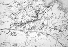Monument map 1930. Detail, Oughterard