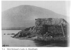 Mick McQuaid's Castle, Lough Shindillagh