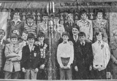 Press cutting 1977. Bishop Casey, Confirmation