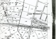 Map 1898. Detail Workhouse