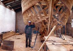Tommy Mallon, Camp Street. Boat builder c.1980