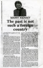 kathleen Murphy, Donnellan. Camp Street  born 1906 Article in the Connacht Tribune 2006