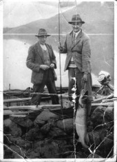 Fishing on Lough Corrib, Oughterard