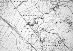 Monument map 1930. Detail, Bealnalappa