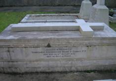 Tomb in Killanin Graveyard