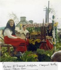 Barbara McDonnell, Wellfield, Margaret Kelly, Glann and Maura Carr