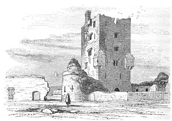 Aughnanure Castle C. 1865