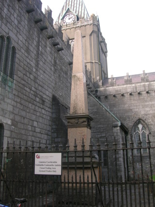 Monument at St. Nicholas' Cathedral, Galway