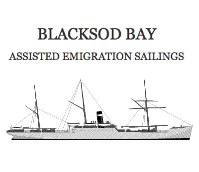 Blacksod Bay Assisted Emigration Of 1800'S