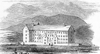 Clifden Workhouse - similar design to Oughterard