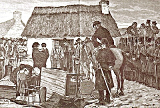 Eviction in the West of Ireland- Aloysius O'Kelly