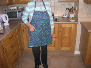 The Christmas apron!